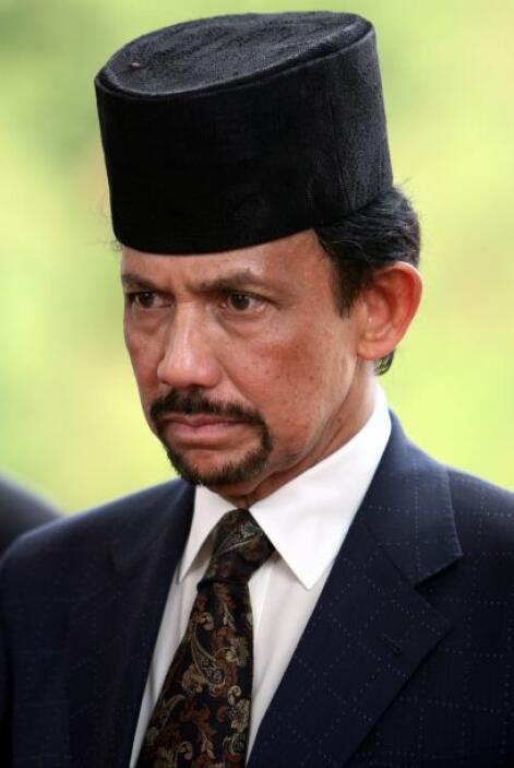 1.-Sultán de Brunei: Hassanal Bolkiak, sultán de Brunei es quizá el homb...