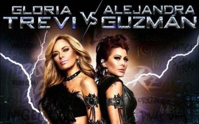 Gloria Trevi y Alejandra Guzmán