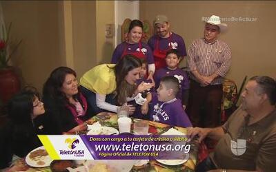 La Ruta de la Solidaridad: Martín recibió la ayuda de un Ángel Guardián