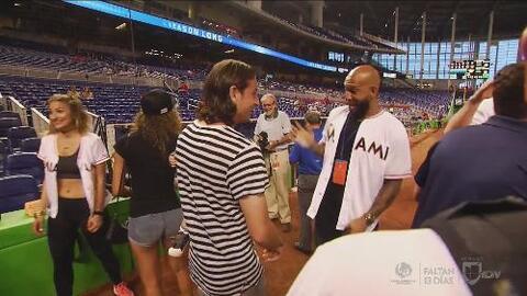 La Selección de Estados Unidos disfrutó de una noche de béisbol en Miami