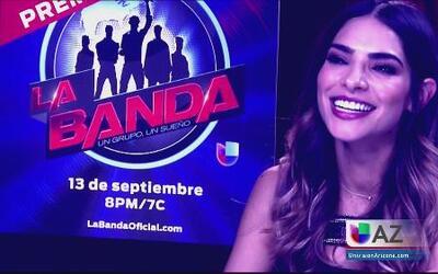 """Alejandra Espinoza feliz por """"La Banda"""""""