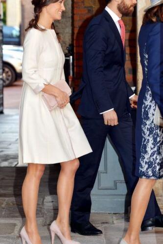 Pippa hizo gala de su elegante estilo para dejarse ver en este evento im...
