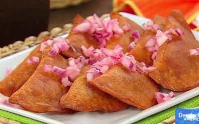 Receta de empanadas coloradas con Karla y Chef Tutti