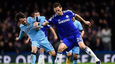David Silva consiguió el empate para los Citizens tras el gol blue de Remy.
