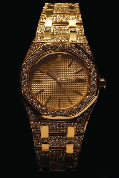 Reloj de pulso para caballero, marca Audemars Piguet, con bisel y pulso...