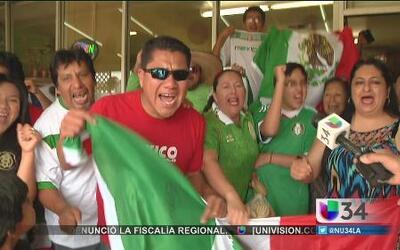 ¡Los Ángeles vibró con el triunfo de México!