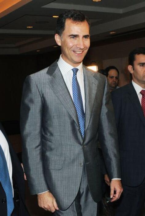 """EL PRÍNCIPE FELIPE. """"Felipe de Borbón es un hombre serio y dulce, con un..."""