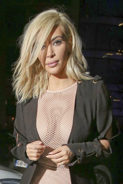 Kim se aseguró de opacar a todos con este atuendo.