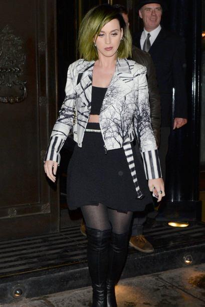 ¡Wow! Katy Perry también nos dejó sin aliento. El 'l...