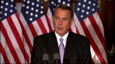 """Boehner dice que Obama actúa como """"rey"""" y """"emperador"""""""
