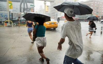 Alerta de severas tormentas en el Centro y Costa Este del país