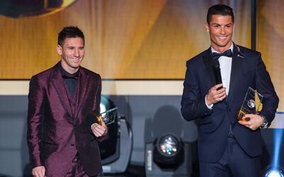 Messi y Cristiano Ronaldo, nuevamente los favoritos para el Balón de Oro...