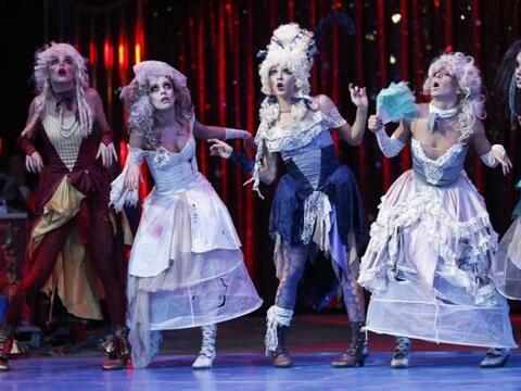 Artistas de 'Vavilov' se presentan durante un acto de la edición...