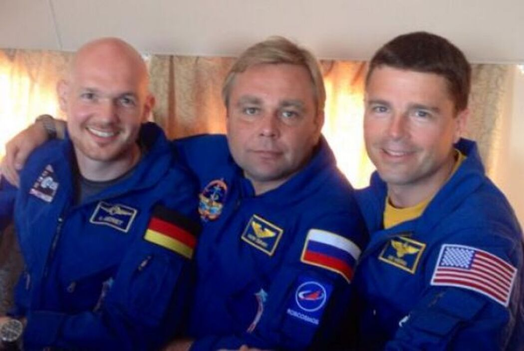 Estación Espacial Internacional, la tripulación internacional. 14 días h...