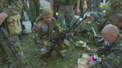 Rusia pide a Ucrania que inicie conversaciones con rebeldes