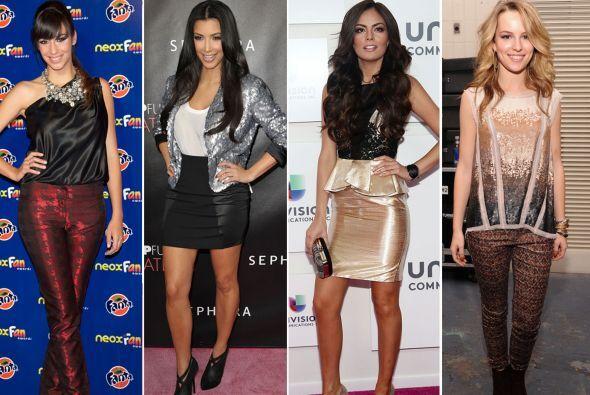 Desde sensuales vestidos hasta los 'legging' más ajustados, estas prenda...