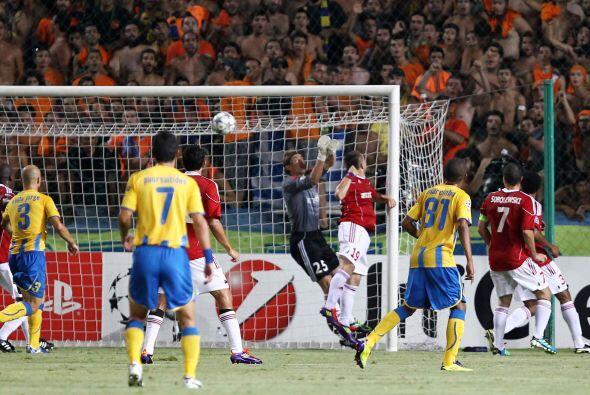 Con un marcador de 3-1, 3-2 en el global, el Nicosia fue quien avanzó.