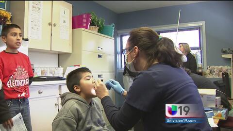 Campaña gratuita de salud dental para los niños de Sacramento