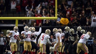Highlights Semana 10: San Francisco 49ers vs. New Orleans Saints