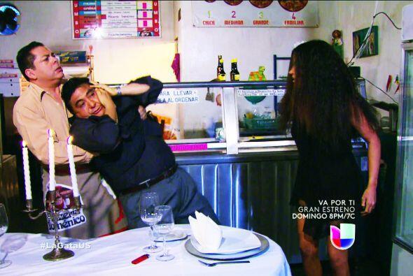 ¡Ahhh! Pero Pablo también encontró a un terrible rival, el famoso 'Itali...