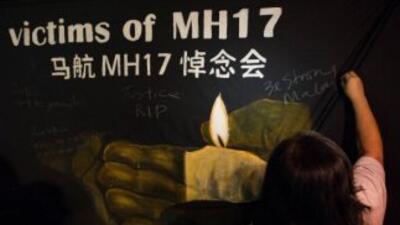 """""""A la luz del reciente accidente, en el servicio de Malaysia Airlines en..."""