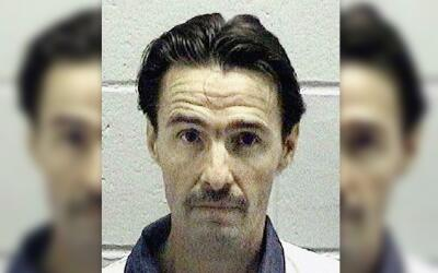 El condenado a muerte J.W. Ledford Jr. en una foto de la policía...