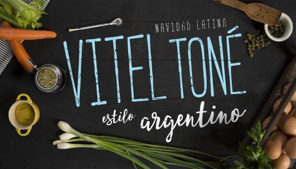 Vitel toné argentino para que esta navidad lo prepares #ComoEnCasa