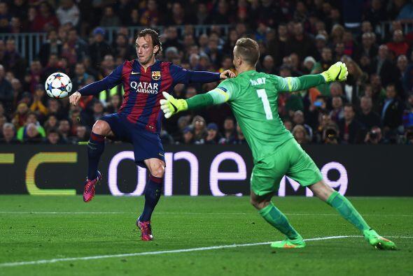 El gol de la diferencia llegaría al minuto 31 en un gran pase de...