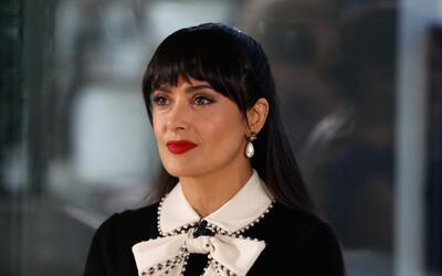 Salma Hayek participó como panelista de la mesa redonda 'Women in...