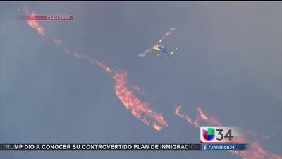 Actualización sobre incendios en CA