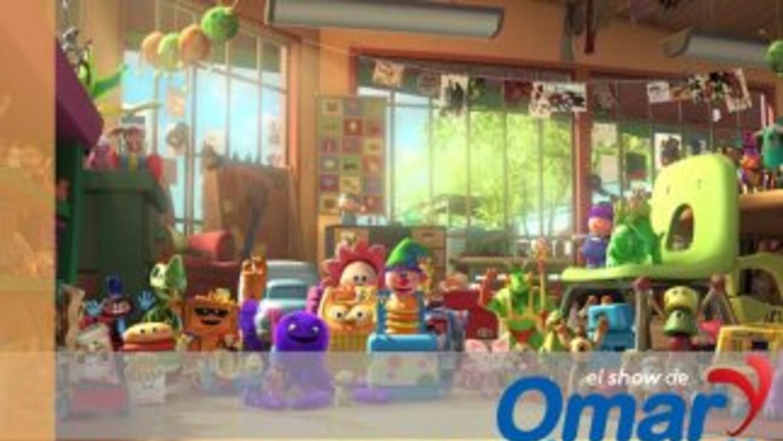 El mundo de juguete de Omar y Argelia