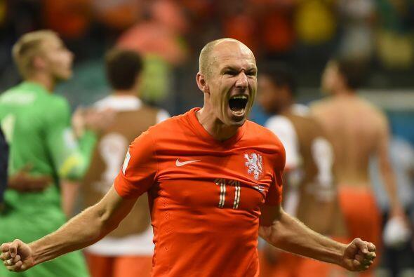Arjen Robben, el holandés tuvo una temporada destacada con el Bayern Mun...