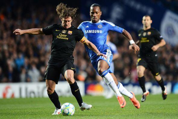 Stamford Bridge recibió a su Chelsea para enfrentar al Barcelona en el c...