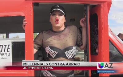 Un joven en contra de Joe Arpaio llama a los millennials a votar al ritm...