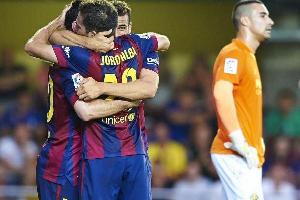 El gol llegaba a hacer diferencia en un juego que se perfilaba a acabar...