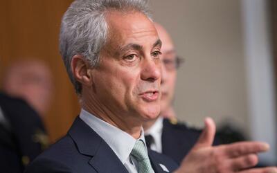 Alcalde de Chicago anuncia construcción de linea rápida de tren hacia el...