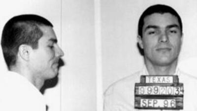 Ficha de la policía de Texas cuando Victor Saldaño fue arrestado en 1996.