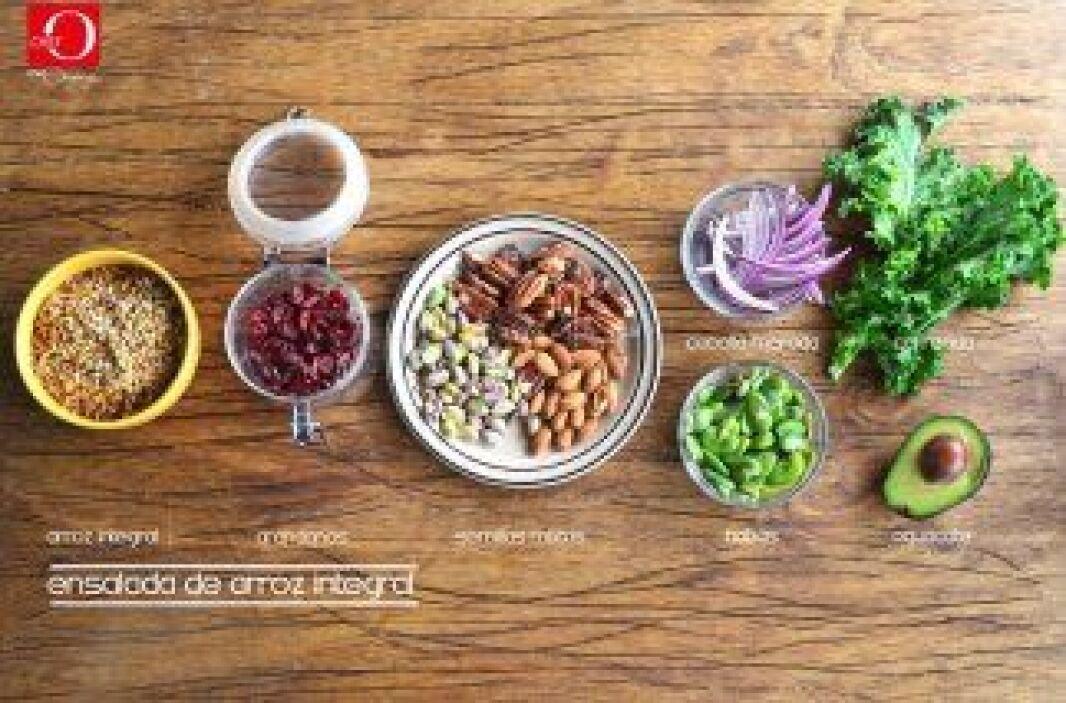 """La receta de """"Ensalada de Arroz"""" es un plato sencillo y muy variado. Es..."""