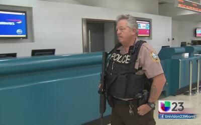 Incrementan seguridad en terminales aéreas de cara al 4 de Julio