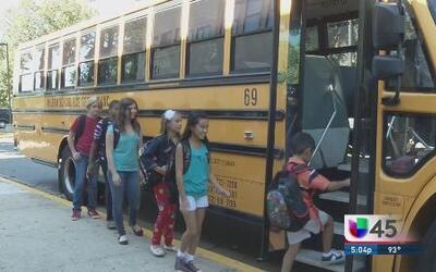 El bus escolar es más seguro para los niños