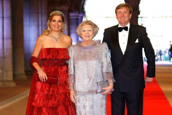 Beatriz de Holanda no olvidó en su discurso a Máxima Zorreguieta, desde...