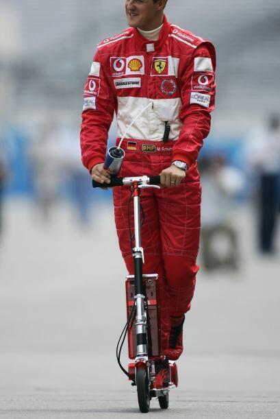 Michael Schumacher, llegó a ser el deportista mejor pagado del planeta,...