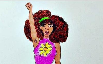 Los dibujos de Crystal Rodríguez retratan el inconformismo de muchas muj...