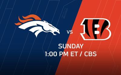Las claves del encuentro entre Broncos y Bengals