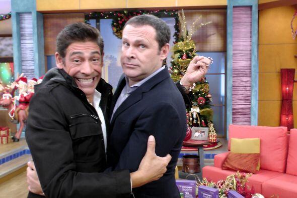 Alan y Johnny son como hermanos. ¡Se nota cuánto se quieren!