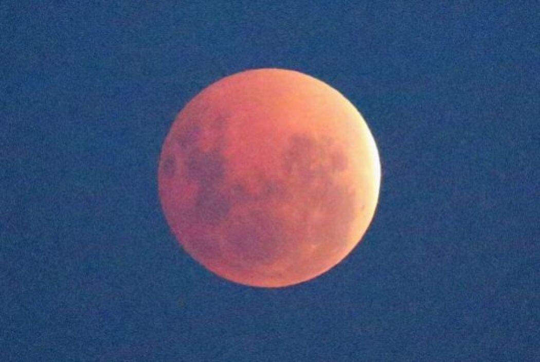 """La última """"luna sangrienta"""" se había visto el 10 de diciembre de 2011."""