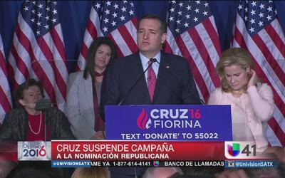 ¿A qué se debió la retirada de Ted Cruz?