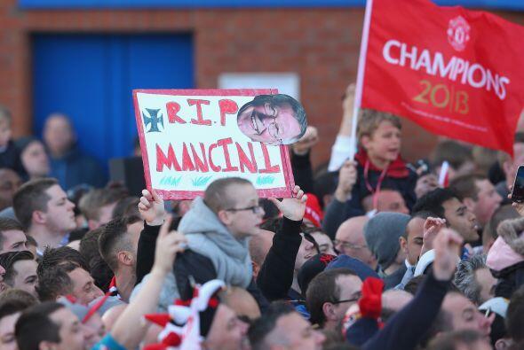 Manchester vivió por segundo año en fila los festejos en sus calles por...