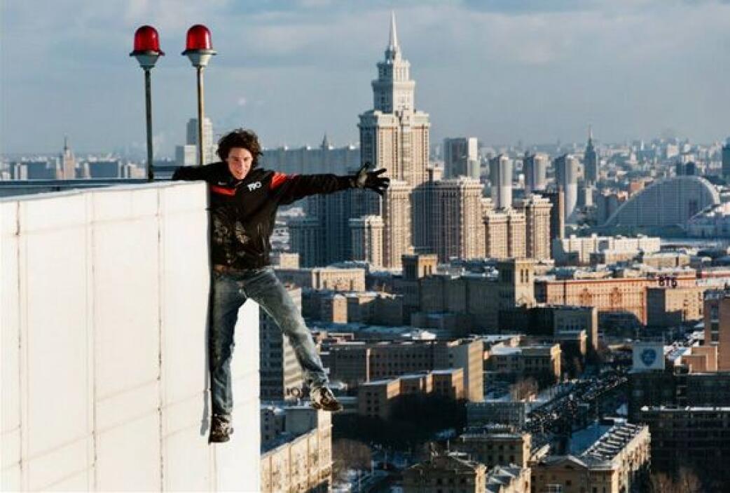 Ha llegado a subir a la Torre Mercury en Moscú, la más grande de Europa...