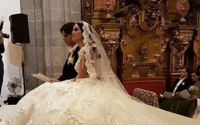 La tapatía Ximena Navarrete se casó con el empresario Juan...
